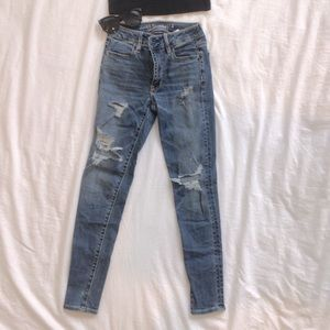 American Eagle High Rise Super Stretch Jegging